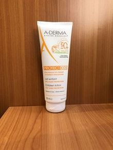 A-Derma protect kids lait enfant SPF50+ 250ml