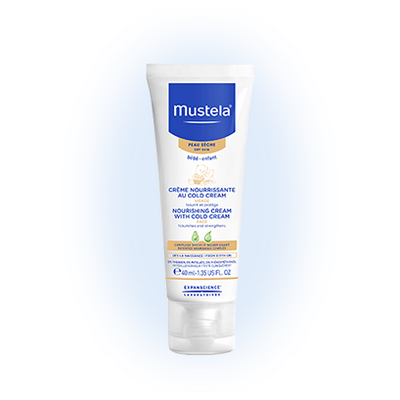 mustela cr me nourrissante au cold cream peau s che 40ml. Black Bedroom Furniture Sets. Home Design Ideas