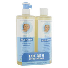KLORANE Gel Douceur Moussant 2x500mL