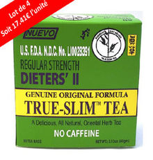 TRUE SLIM TEA Lot x4