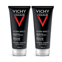 vichy gel douche mag c hydratant 200ml duo